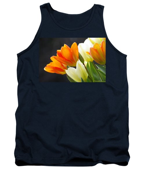 Tank Top featuring the photograph Tulips by Marilyn Wilson