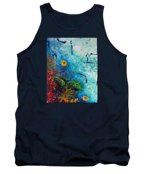 Turtle Wall 1 Tank Top