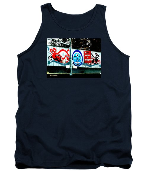 Tank Top featuring the photograph Twilight In Forks Wa 6 by Sadie Reneau