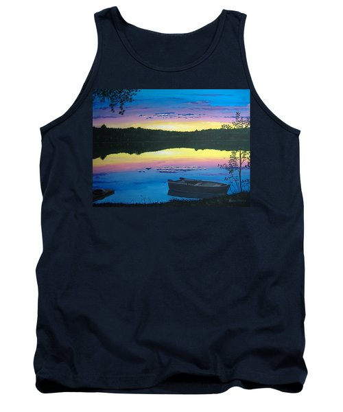 Twilight Quiet Time Tank Top by Norm Starks
