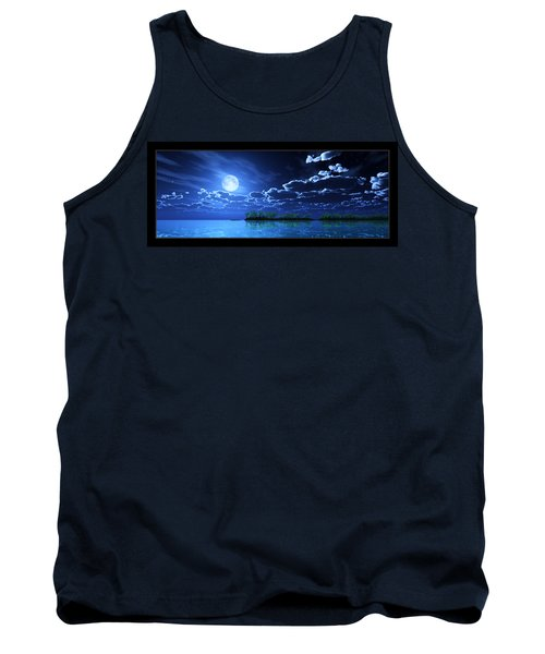 Under A Silvery Moon... Tank Top