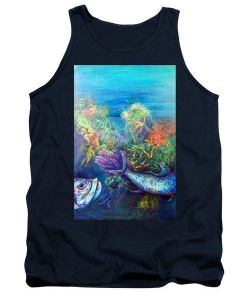 Jesus Reef  Tank Top