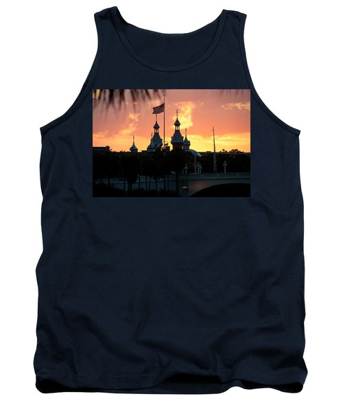 University Of Tampa Minerets At Sunset Tank Top