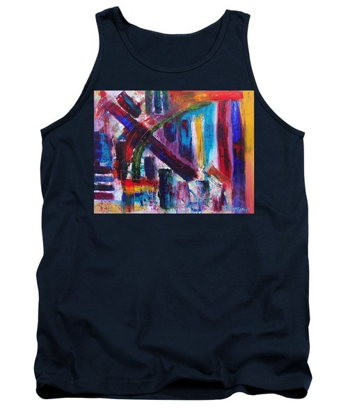 Tank Top featuring the painting Untitled # 9 by Jason Williamson