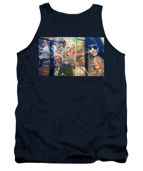 Urban Graffiti 3 Tank Top by Janice Westerberg