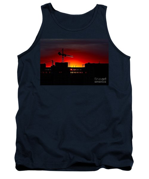 Urban Sunrise Tank Top by Linda Bianic
