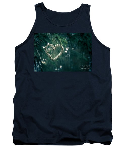 Valentine's Day In Nature Tank Top by Andreas Levi