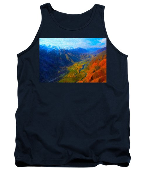 Valley Shadows Tank Top