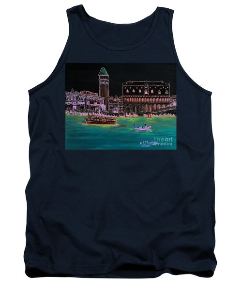 Venice At Night Tank Top