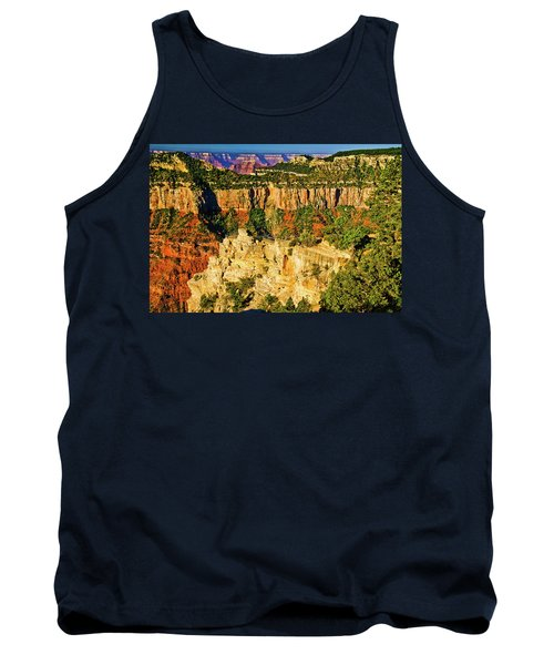 Tank Top featuring the photograph View From Angel Point  by Bob and Nadine Johnston