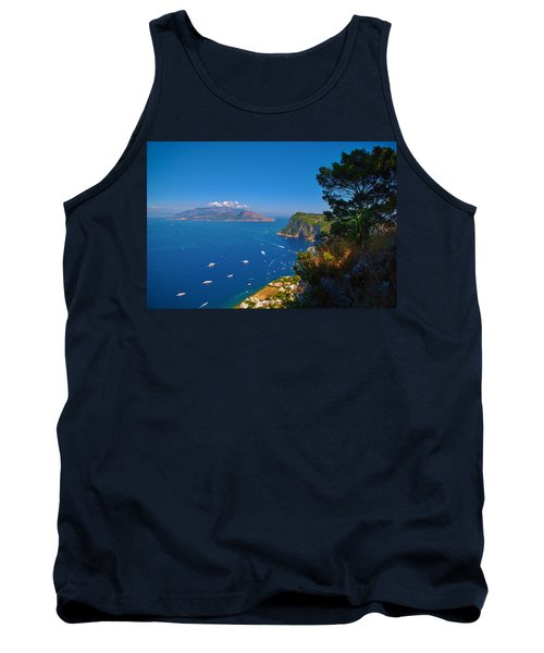 View From Capri Tank Top