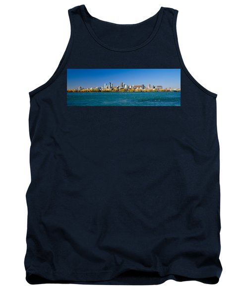 View Of Montreal Skyline And The Saint Tank Top