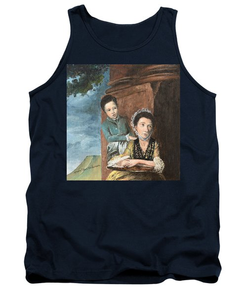 Vintage Mother And Son Tank Top