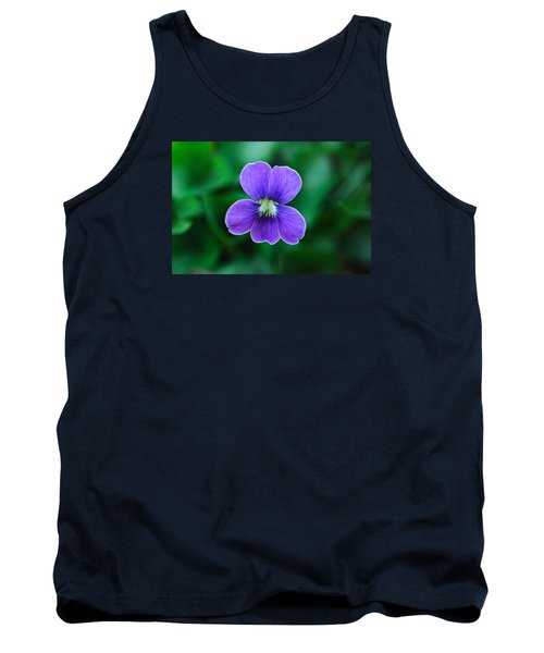 Tank Top featuring the photograph Violet Splendor by Julie Andel