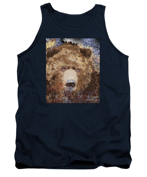 Visionary Bear Tank Top by Kim Prowse