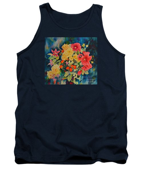 Tank Top featuring the painting Vogue by Beatrice Cloake