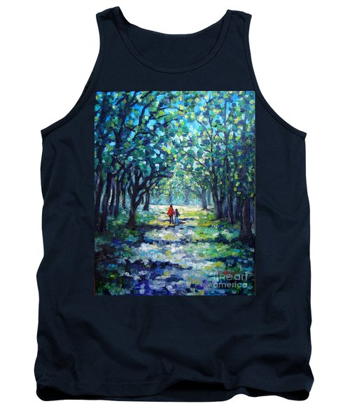 Walking In The Park Tank Top