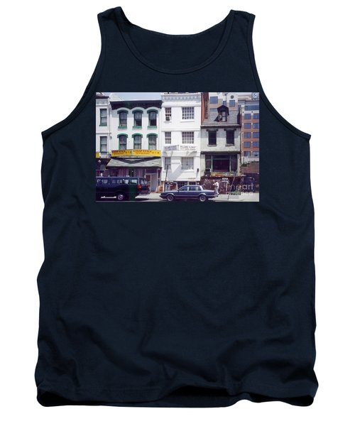 Washington Chinatown In The 1980s Tank Top