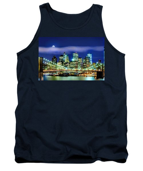 Watching Over New York Tank Top by Az Jackson