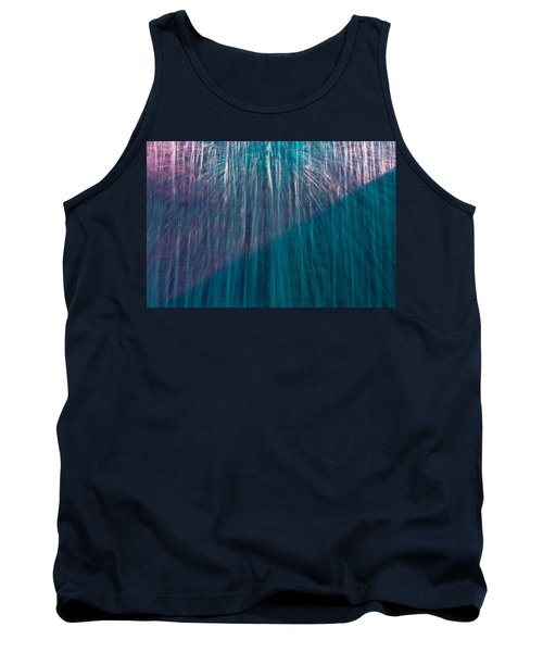 Waterfall Abstract Tank Top
