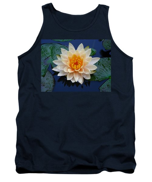 Tank Top featuring the photograph Waterlily After A Shower by Raymond Salani III