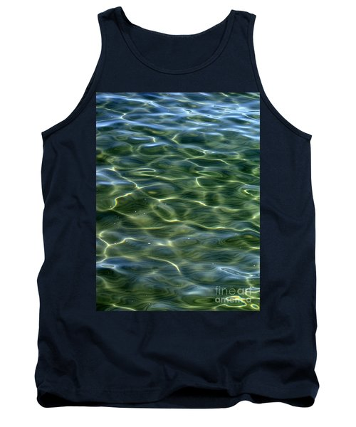 Waves On Lake Tahoe Tank Top