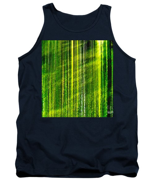 Weeping Willow Tree Ribbons Tank Top