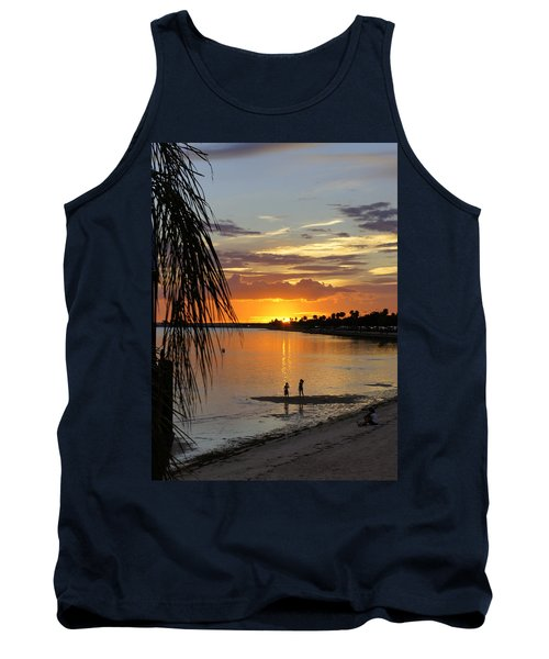 Tank Top featuring the photograph Whiskey Joe's by Laurie Perry