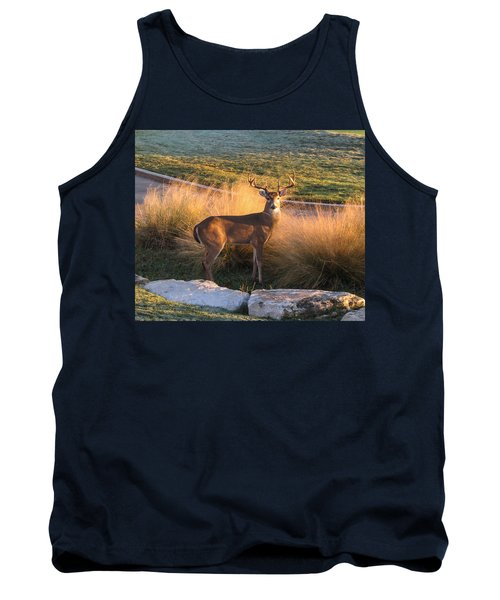 White Tail Tank Top