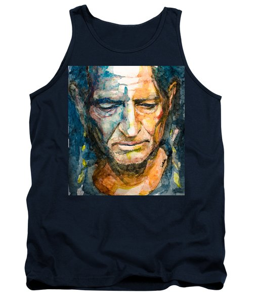 Willie Nelson  Tank Top by Laur Iduc