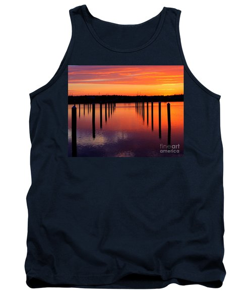 Winchester Bay Sunset Tank Top