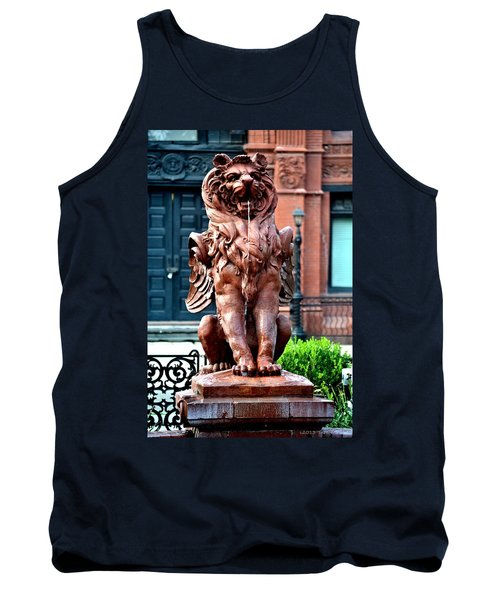 Winged Lion Fountain Tank Top by Tara Potts