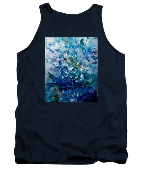 Tank Top featuring the painting Winter Bouquet by Lisa Kaiser