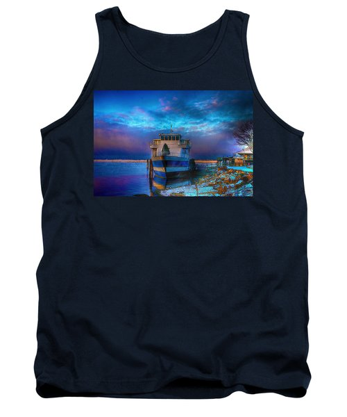 Welcome Sun Breaking The Cold Tank Top