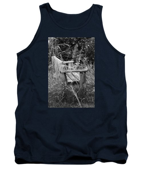 Wood Bench Tank Top