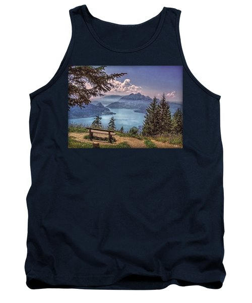 Wooden Bench Tank Top by Hanny Heim