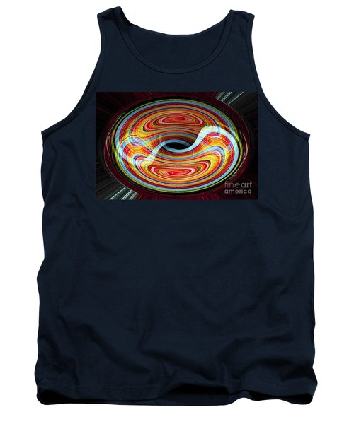 Yin And Yang - Abstract Tank Top