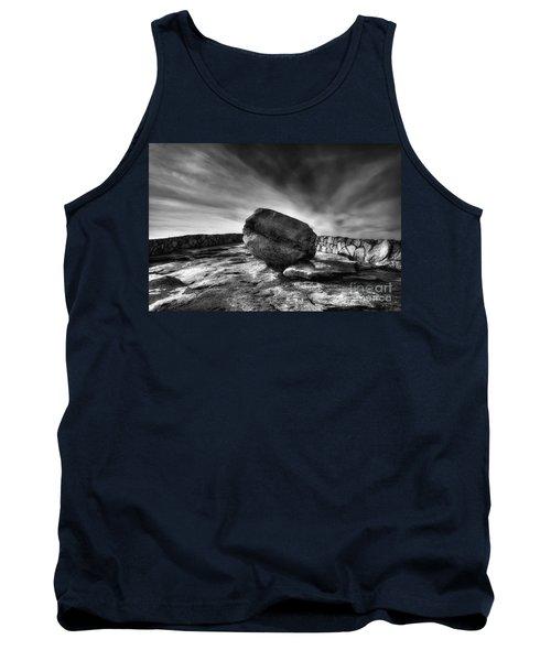 Zen Black White Tank Top