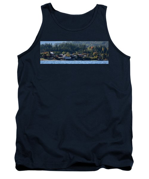 Tank Top featuring the photograph Home Sweet Kaslo by Cathie Douglas
