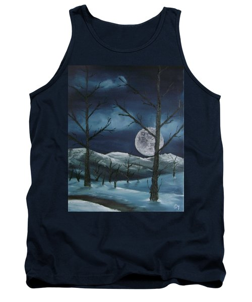 Winter Night Tank Top