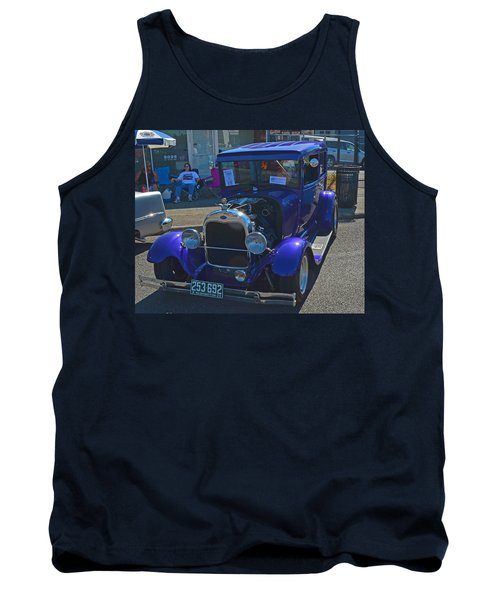 Tank Top featuring the photograph 1929 Ford Model A by Tikvah's Hope