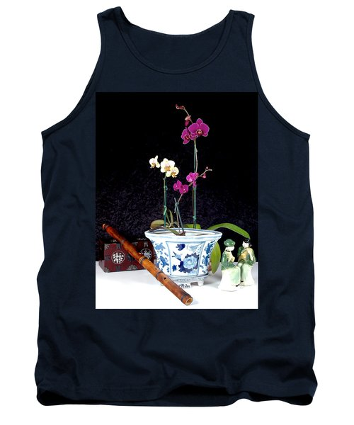 Tank Top featuring the photograph Rendezvous by Elf Evans