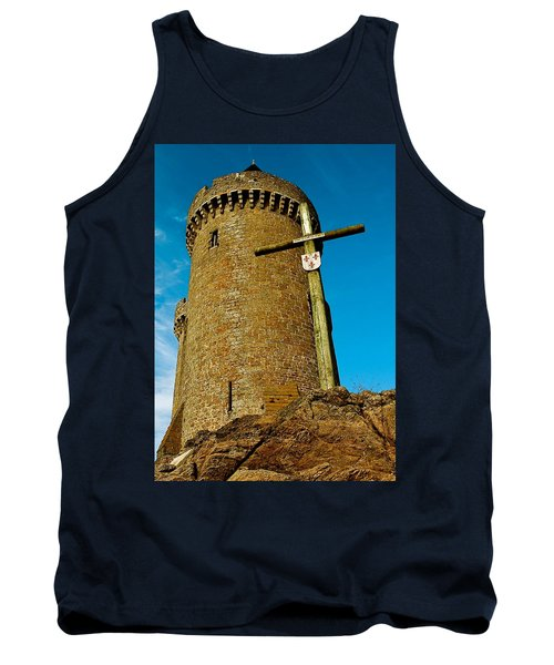 Tank Top featuring the photograph Solidor And Cross by Elf Evans