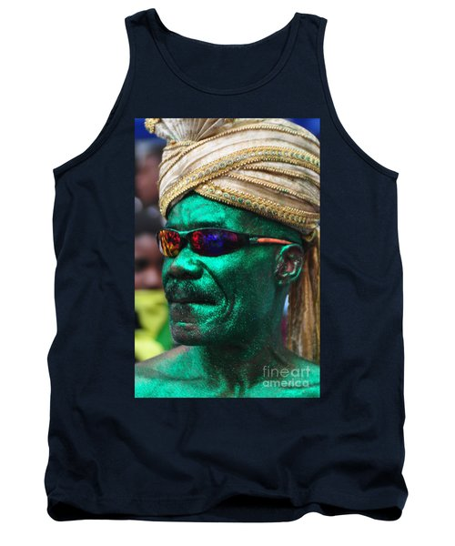 West Indian Day Parade Brooklyn Ny Tank Top by Mark Gilman