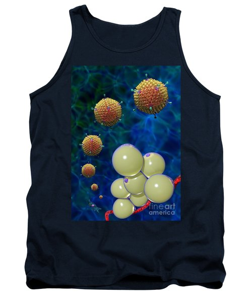 Adenovirus 36 And Fat Cells Tank Top