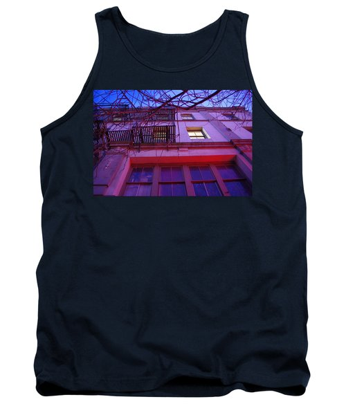 Tank Top featuring the photograph Apartment Building by Marilyn Wilson