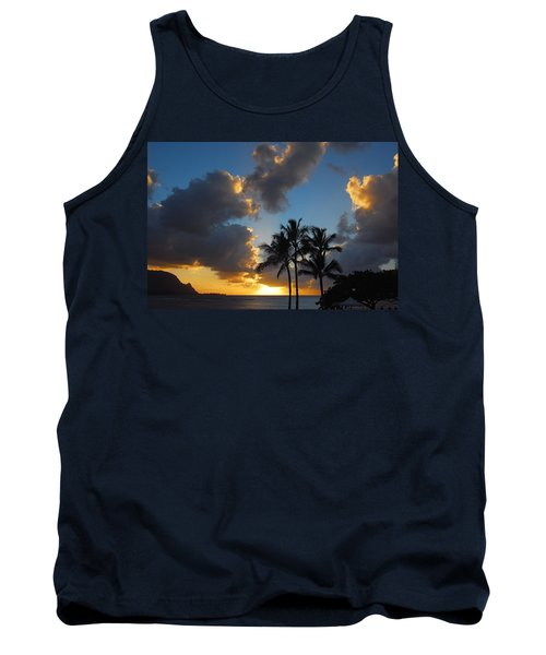 Tank Top featuring the photograph Bali Hai Sunset by Lynn Bauer