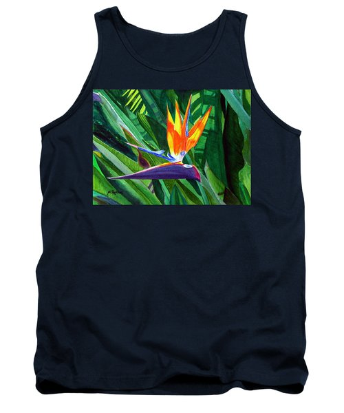 Bird-of-paradise Tank Top by Mike Robles