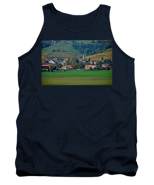 Tank Top featuring the photograph Bonvillars by Eric Tressler