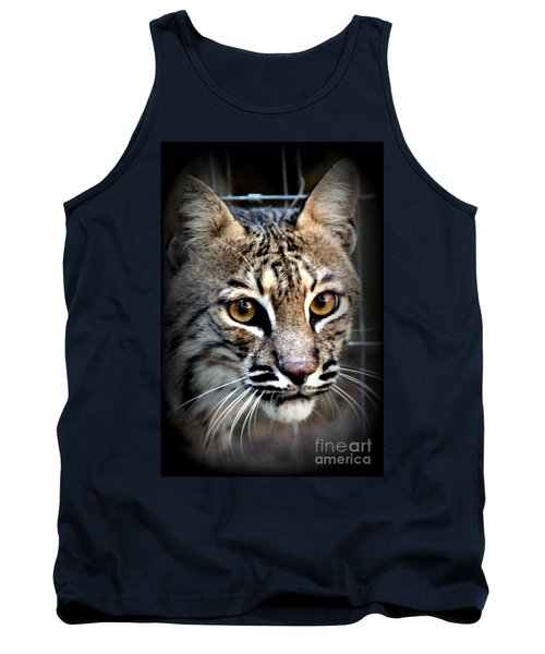 Tank Top featuring the photograph Cat Fever by Kathy  White